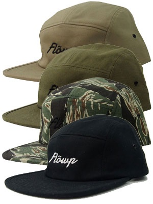 FLOWP(フロープ)/ LOGO CAMP CAP