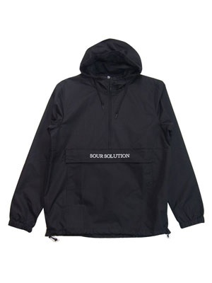 SOUR SOLUTION(サワーソリューション)/ SOUR SOLUTION ANORAK -BLACK-