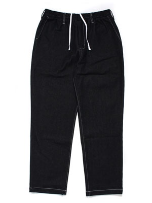 Cheers(チアーズ)/ DENIM TEPS PANTS -BLACK-