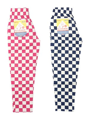 COOKMAN(クックマン)/ CHEF PANTS WIDE CHECKER