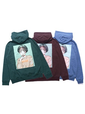 OVER PRINT(オーバープリント)/ CANDY HOODIE