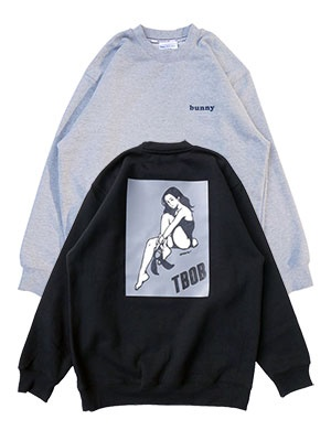 TheBackOfBoys(ザ バックオブボーイズ)/ BUNNY CREW NECK PULLOVER