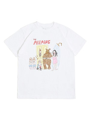 interviewer in the park(インタビュアー イン ザ パーク)/ THE PEEPING TEE -WHITE-