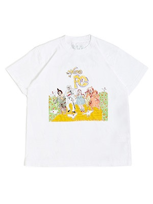 interviewer in the park(インタビュアー イン ザ パーク)/ Wizard OF FC TEE -WHITE-